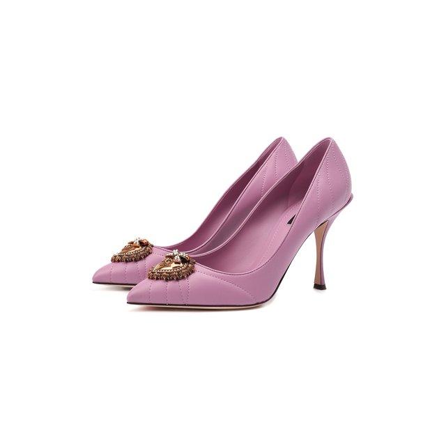 Кожаные туфли Devotion Dolce & Gabbana