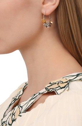 Женские серьги ISABEL MARANT серебряного цвета, арт. BL0791-21P018B | Фото 2