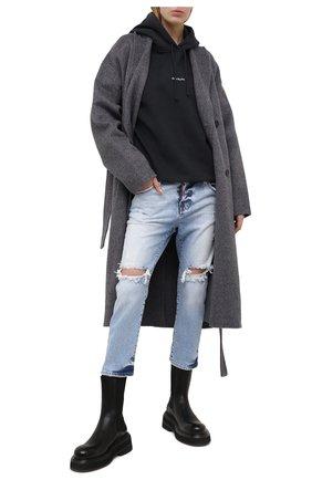Женские джинсы DSQUARED2 голубого цвета, арт. S75LB0496/S30663 | Фото 2