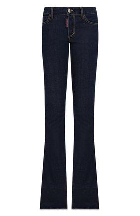 Женские джинсы DSQUARED2 темно-синего цвета, арт. S75LB0499/S30595 | Фото 1