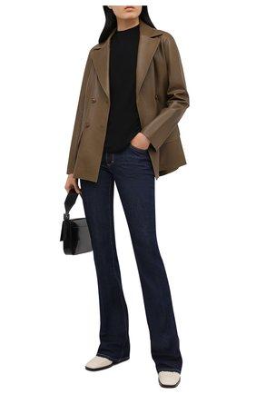 Женские джинсы DSQUARED2 темно-синего цвета, арт. S75LB0499/S30595 | Фото 2