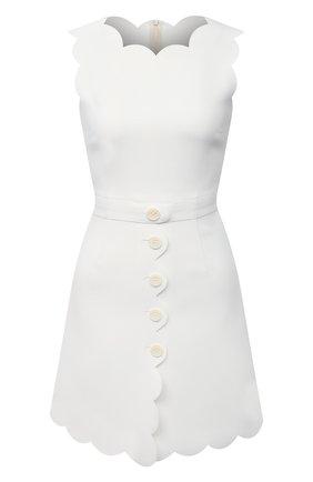 Женское платье REDVALENTINO белого цвета, арт. VR3VAW85/1FR | Фото 1