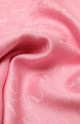 Женская палантин  VALENTINO розового цвета, арт. VW2ED007/AJB   Фото 2