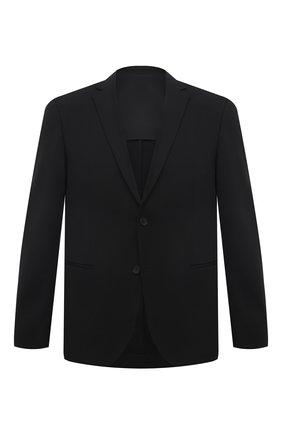 Мужской пиджак BOSS черного цвета, арт. 50451141 | Фото 1