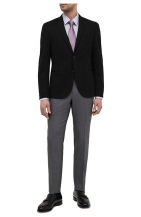 Мужской пиджак BOSS черного цвета, арт. 50451141 | Фото 2