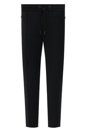 Мужские брюки DOLCE & GABBANA черного цвета, арт. GYACET/FURIR | Фото 1