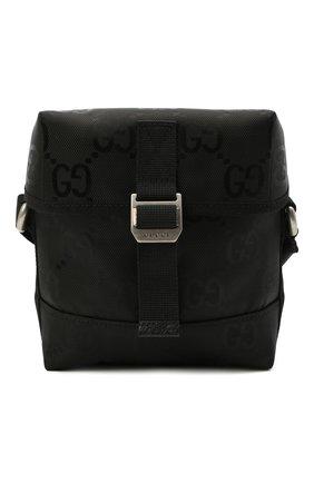 Мужская текстильная сумка off the grid GUCCI черного цвета, арт. 643858/H9HKN | Фото 1 (Ремень/цепочка: На ремешке; Материал: Текстиль)