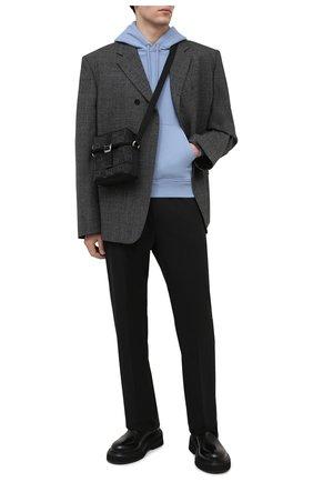 Мужская текстильная сумка off the grid GUCCI черного цвета, арт. 643858/H9HKN | Фото 2 (Ремень/цепочка: На ремешке; Материал: Текстиль)