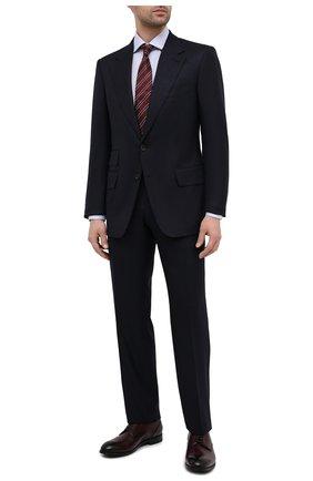 Мужские кожаные дерби ERMENEGILDO ZEGNA бордового цвета, арт. A4465X-LHNAX | Фото 2