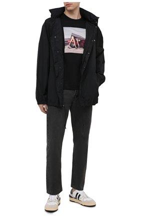Мужская хлопковая футболка LIMITATO черного цвета, арт. ZED 4/T-SHIRT | Фото 2