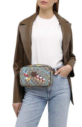Женская поясная сумка disney x gucci GUCCI разноцветного цвета, арт. 602695/204AT | Фото 2