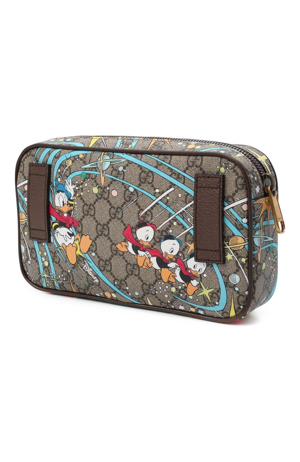 Женская поясная сумка disney x gucci GUCCI разноцветного цвета, арт. 602695/204AT | Фото 3