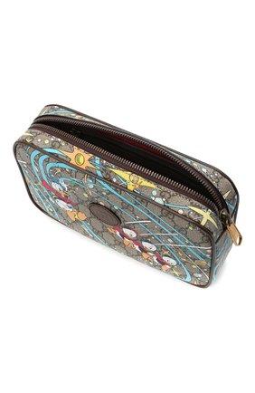 Женская поясная сумка disney x gucci GUCCI разноцветного цвета, арт. 602695/204AT | Фото 4