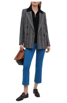 Женские джинсы LORO PIANA синего цвета, арт. FAL5554 | Фото 2