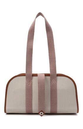 Женская спортивная сумка wellness LORO PIANA светло-бежевого цвета, арт. FAI9250 | Фото 1