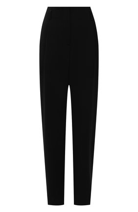 Женские шерстяные брюки GIORGIO ARMANI черного цвета, арт. 1SHPP0GB/T01GT | Фото 1