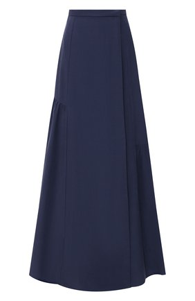 Женская юбка GIORGIO ARMANI синего цвета, арт. 1SHNN04K/T02AW | Фото 1