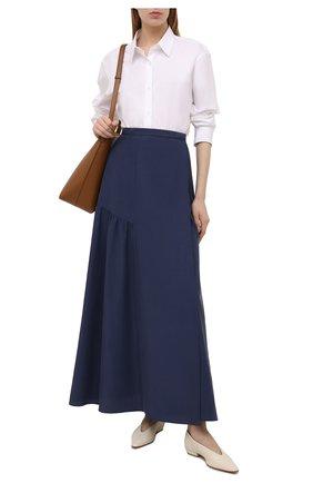 Женская юбка GIORGIO ARMANI синего цвета, арт. 1SHNN04K/T02AW | Фото 2