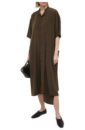 Женское платье Y`S хаки цвета, арт. YT-D01-500   Фото 2