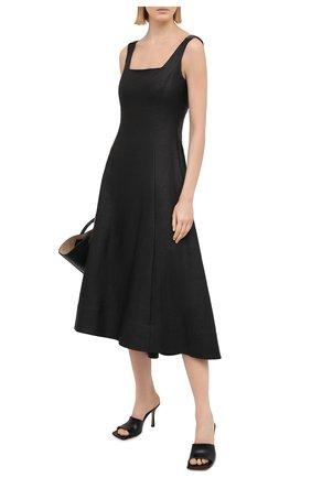Женское платье BRUNELLO CUCINELLI черного цвета, арт. MH135A4717   Фото 2