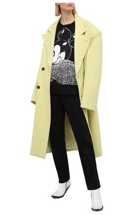 Женский хлопковый свитшот DOMREBEL черного цвета, арт. MICK/SWEATSHIRT/W | Фото 2