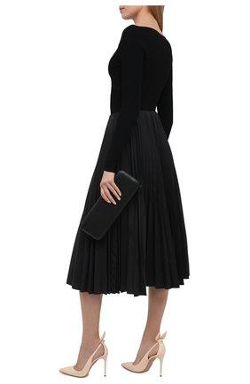 Женские кожаные туфли AQUAZZURA кремвого цвета, арт. DENHIGP0-NAP-CRM | Фото 2