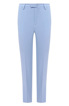 Женские брюки REDVALENTINO голубого цвета, арт. VR3RB0B0/2EU | Фото 1