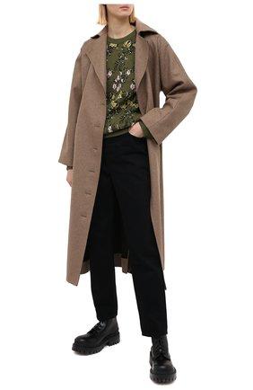 Женский свитер REDVALENTINO хаки цвета, арт. VR3KC05B/5P8 | Фото 2