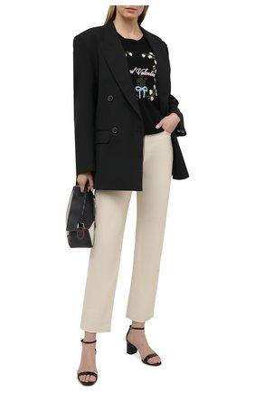 Женский пуловер из шерсти и вискозы REDVALENTINO черного цвета, арт. VR3KC06B/5N8 | Фото 2