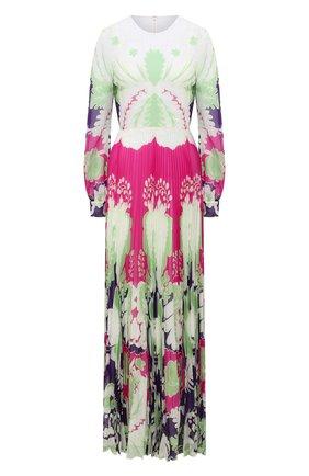 Женское шелковое платье VALENTINO фуксия цвета, арт. VB3VDBQ067W | Фото 1