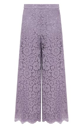 Женские брюки из вискозы и хлопка VALENTINO сиреневого цвета, арт. VB3RB4851EC | Фото 1