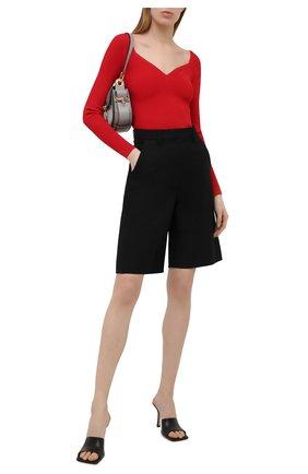 Женский пуловер из вискозы VALENTINO красного цвета, арт. VB3KCC04656 | Фото 2