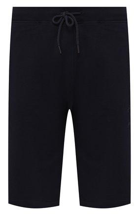 Мужские хлопковые шорты PAUL&SHARK темно-синего цвета, арт. C0P1025/C00/3XL-6XL | Фото 1