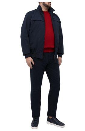 Мужской джемпер PAUL&SHARK красного цвета, арт. C0P1026/FUP/3XL-6XL | Фото 2