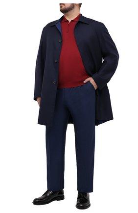 Мужское шелковое поло SVEVO красного цвета, арт. 3501/BSE20L/MP35 | Фото 2