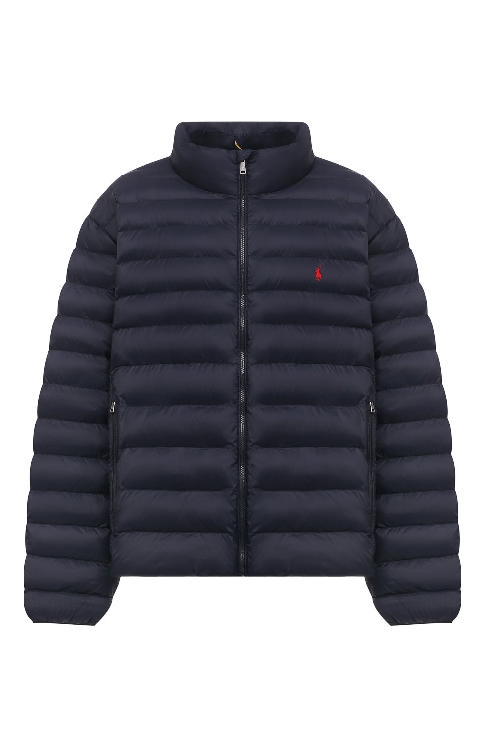Мужская утепленная куртка POLO RALPH LAUREN темно-синего цвета, арт. 711810897/PRL BS   Фото 1