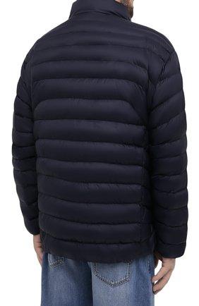 Мужская утепленная куртка POLO RALPH LAUREN темно-синего цвета, арт. 711810897/PRL BS   Фото 4