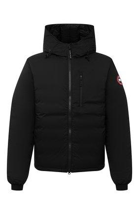 Мужская пуховая куртка lodge CANADA GOOSE черного цвета, арт. 5078M | Фото 1 (Стили: Спорт-шик, Гранж; Материал внешний: Синтетический материал; Мужское Кросс-КТ: пуховик-короткий; Длина (верхняя одежда): Короткие; Материал подклада: Синтетический материал; Рукава: Длинные; Кросс-КТ: Куртка; Материал утеплителя: Пух и перо)