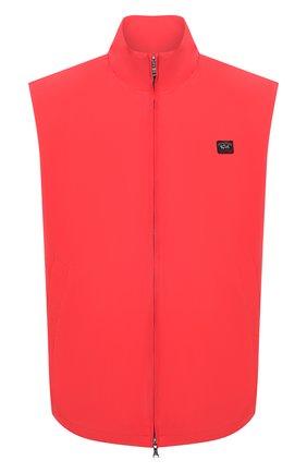 Мужской жилет PAUL&SHARK красного цвета, арт. 21412001/DC/3XL-6XL | Фото 1