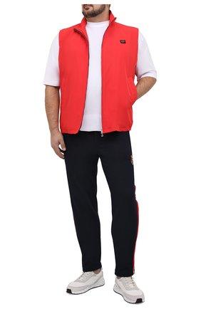 Мужской жилет PAUL&SHARK красного цвета, арт. 21412001/DC/3XL-6XL | Фото 2