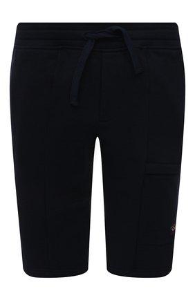 Мужские хлопковые шорты PAUL&SHARK темно-синего цвета, арт. 21411883/C00/3XL-6XL | Фото 1