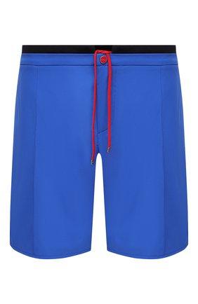 Мужские шорты KITON голубого цвета, арт. UW0946V07T91/60-68 | Фото 1