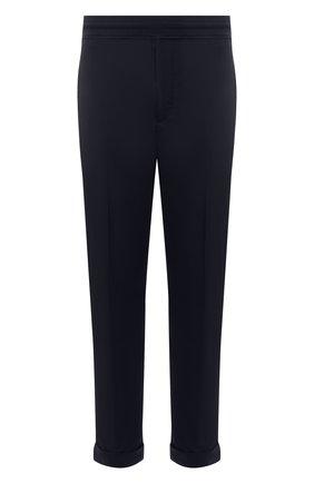 Мужские брюки NEIL BARRETT темно-синего цвета, арт. PBPA635Y/Q014 | Фото 1