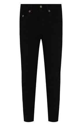 Мужские джинсы NEIL BARRETT черного цвета, арт. PBDE314/Q801T | Фото 1