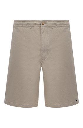 Мужские хлопковые шорты POLO RALPH LAUREN бежевого цвета, арт. 711644995/PRL BS | Фото 1