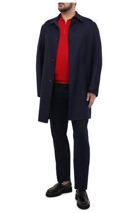 Мужское хлопковое поло SVEVO красного цвета, арт. 82158SE20L/MP0002 | Фото 2