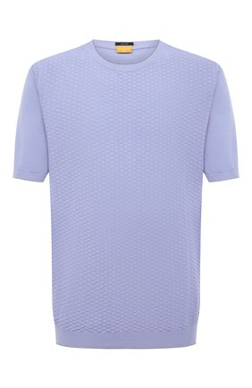 Мужской хлопковый джемпер SVEVO светло-голубого цвета, арт. 82159SE20L/MP0002 | Фото 1