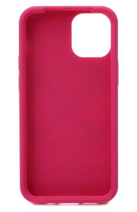 Мужского чехол для iphone 12/12 pro OFF-WHITE фуксия цвета, арт. 0WPA019R21PLA005 | Фото 2