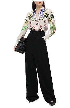 Женская шелковая блузка VALENTINO разноцветного цвета, арт. VB3AB1W067F | Фото 2