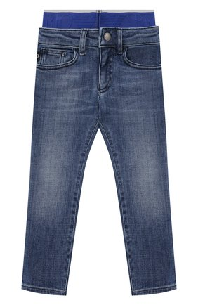 Детские джинсы EMPORIO ARMANI синего цвета, арт. 3K4J17/4D2JZ   Фото 1